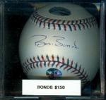 Autographed Baseball Barry Bonds AS (San Francisco Giants)